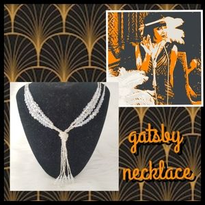 🆕️NWT Long Gatsby 1920's Style Necklace